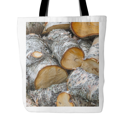 Pile of Birch - Tote Bag