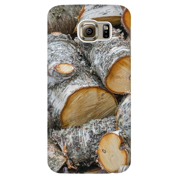 Pile of Birch - Phone Case