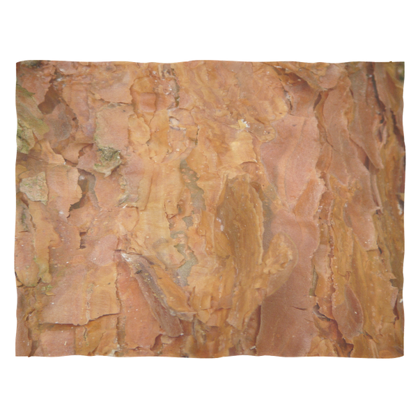 Large Size Deep Rust Tree Bark - Fleece Blankets  Couch Throw