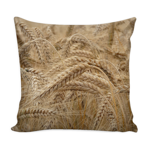 Field of Wheat - Pillow Cover 16x16