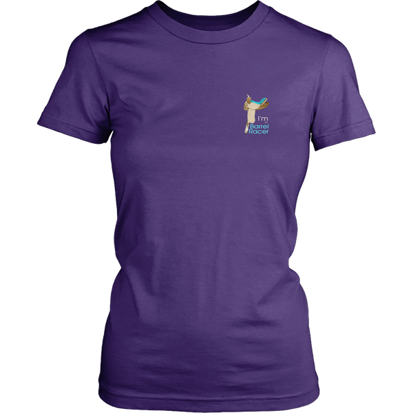 Climb Into My Saddle Ladies District Short Sleeved TShirt