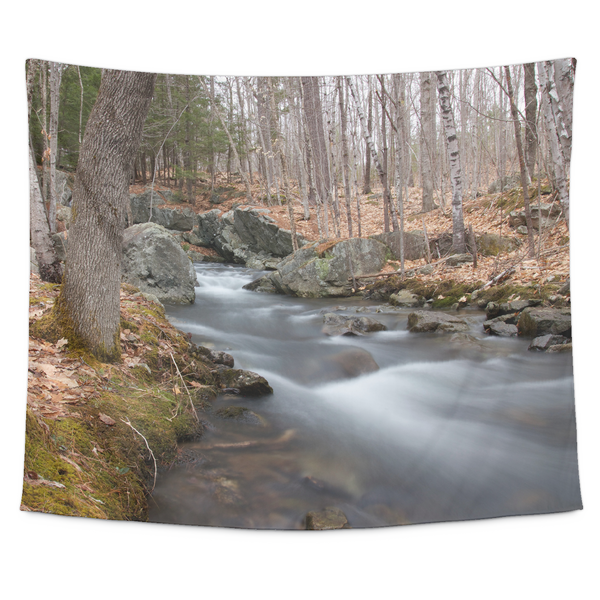 Stream in Wooded Glade - Tapestry