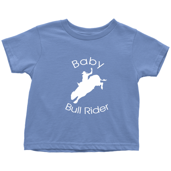 Baby Bull Rider Toddler T-Shirt - Blue