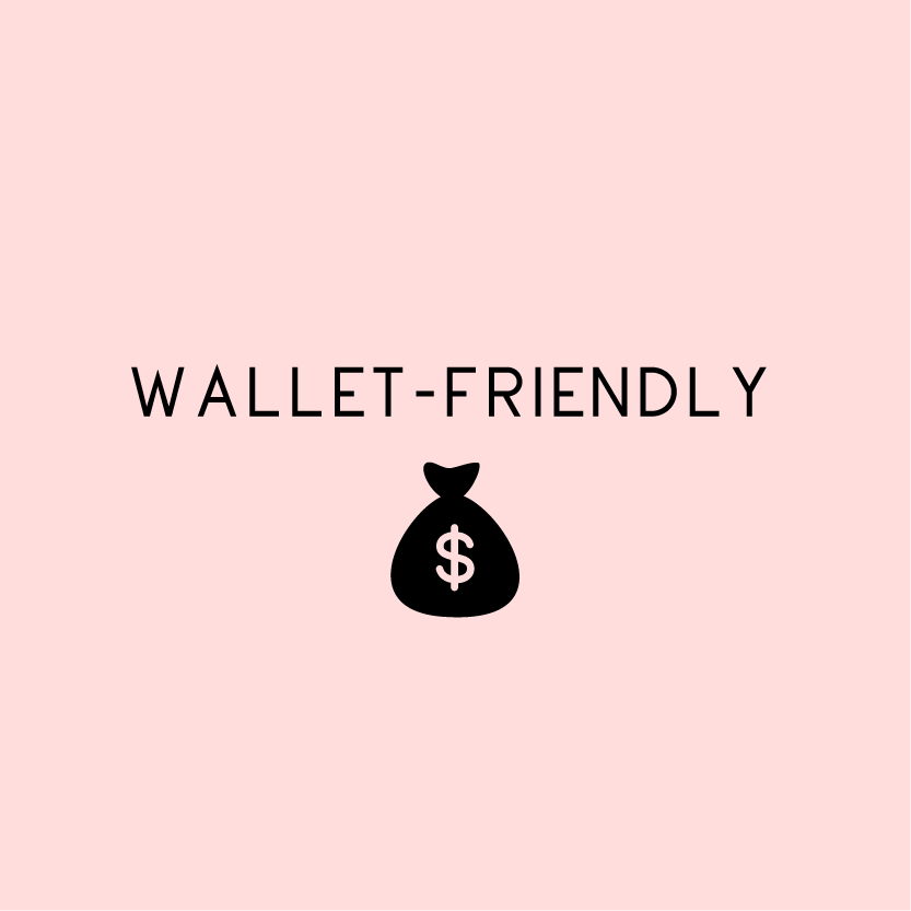 WALLET-FRIENDLY WITH BAG OF MONEY