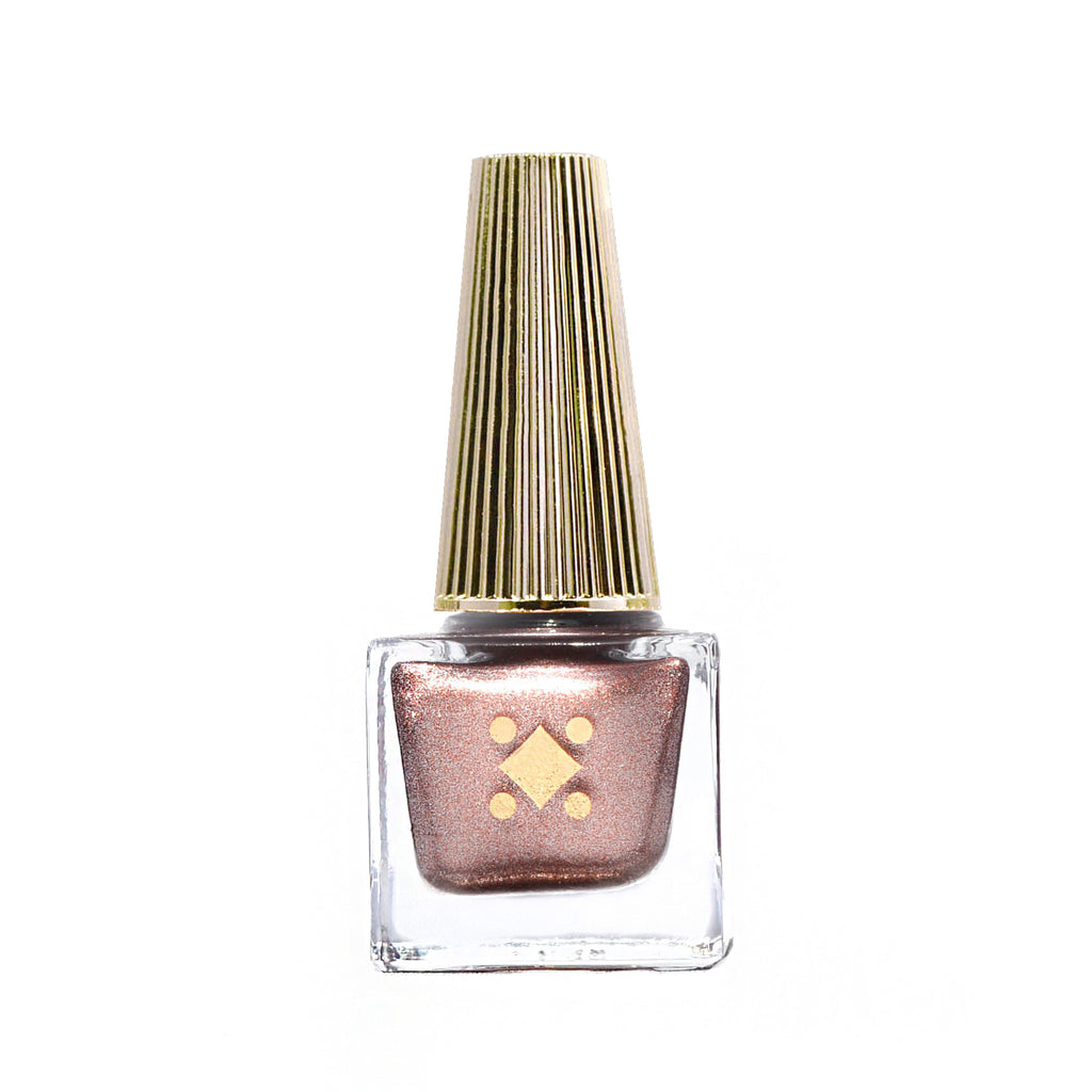 CHAMPAGNE MAMI - 6ML - rose gold metallic nail lacquer by Deco Miami