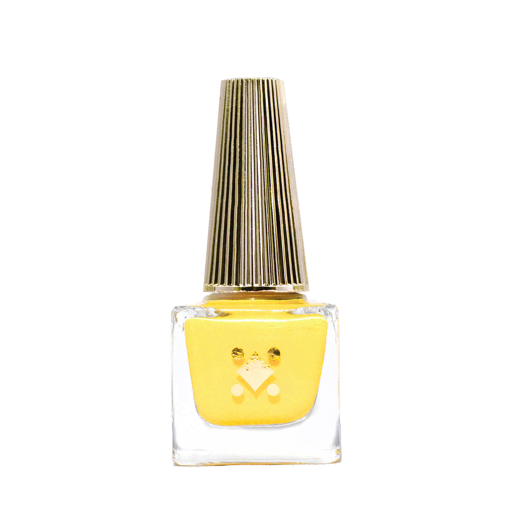 TEQUILA SUNRISE - 6ML - canary yellow crème nail lacquer by Deco Miami