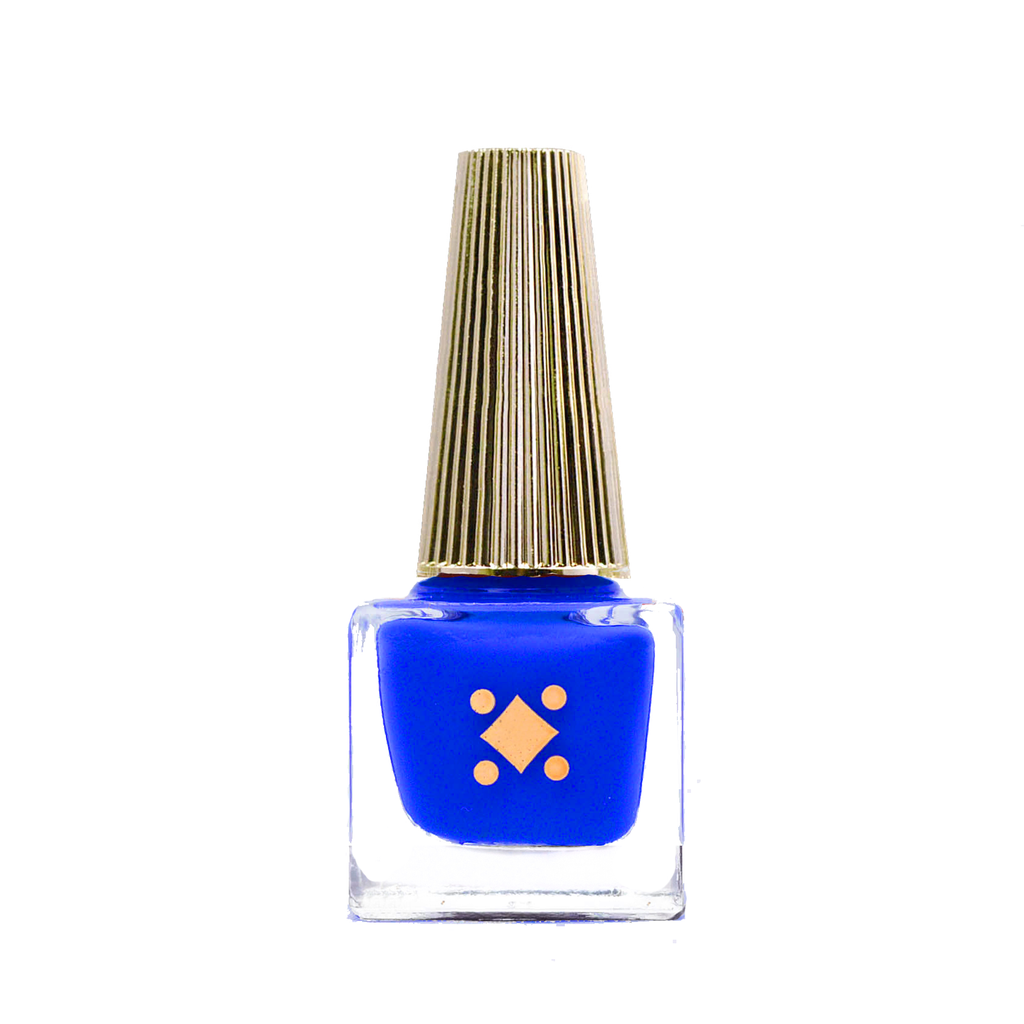 NAMASTE BY THE POOL - 6ML - royal blue crème nail lacquer by Deco Miami