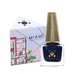Deco Miami Nail Lacquer Brickell Blue with triangle box