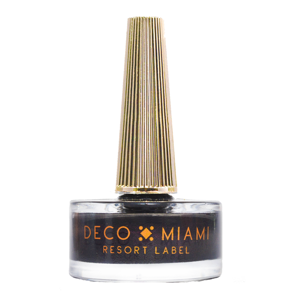 BLACK LIKE MY SOUL - 14.8ML - black crème nail lacquer by Deco Miami