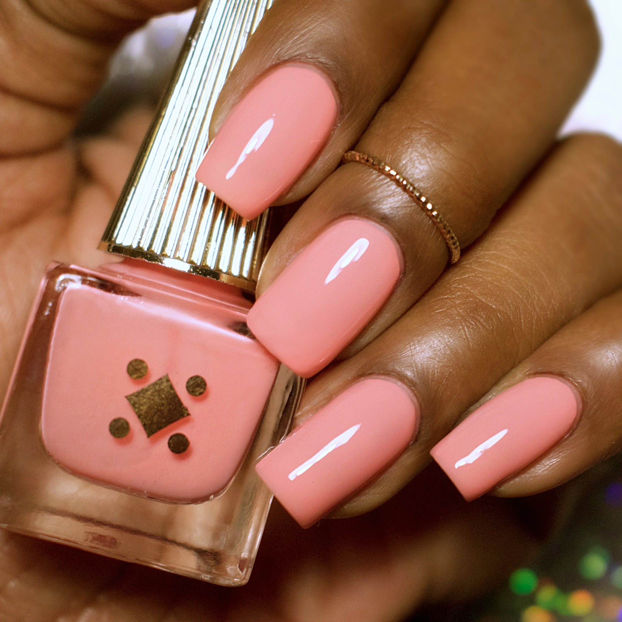 ROSÉ ALL DAY -  peach crème nail lacquer by Deco Miami