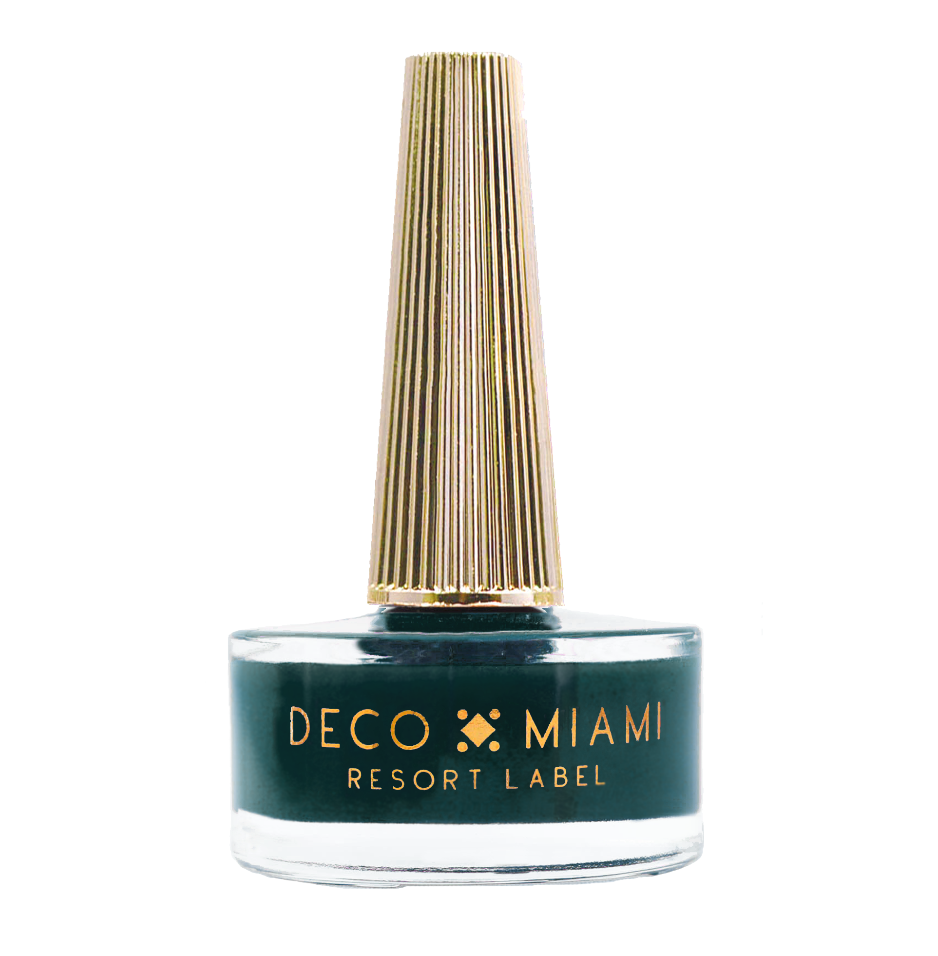 BAD REPUTATION - 14.8ML - emerald green crème nail lacquer by Deco Miami