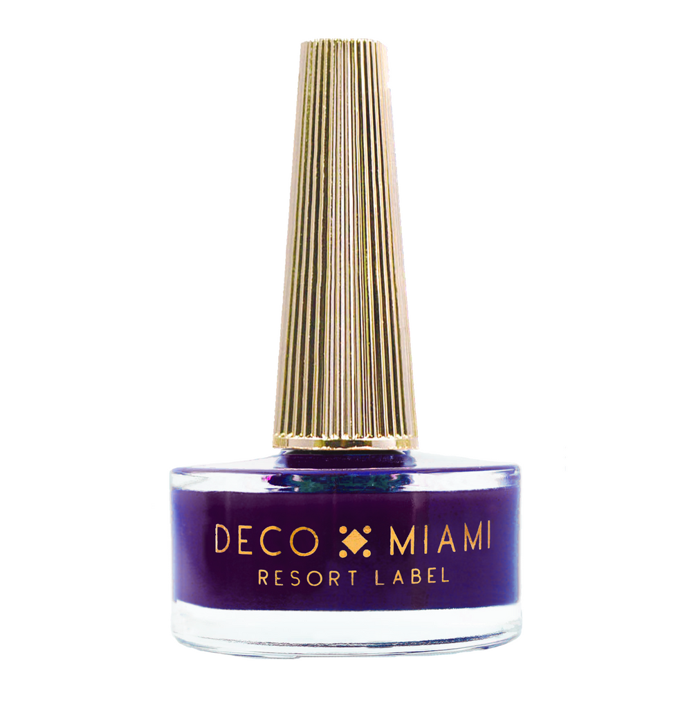 NOT YOUR FORTUNE TELLER - 14.8ML - DEEP PLUM crème nail lacquer by Deco Miami