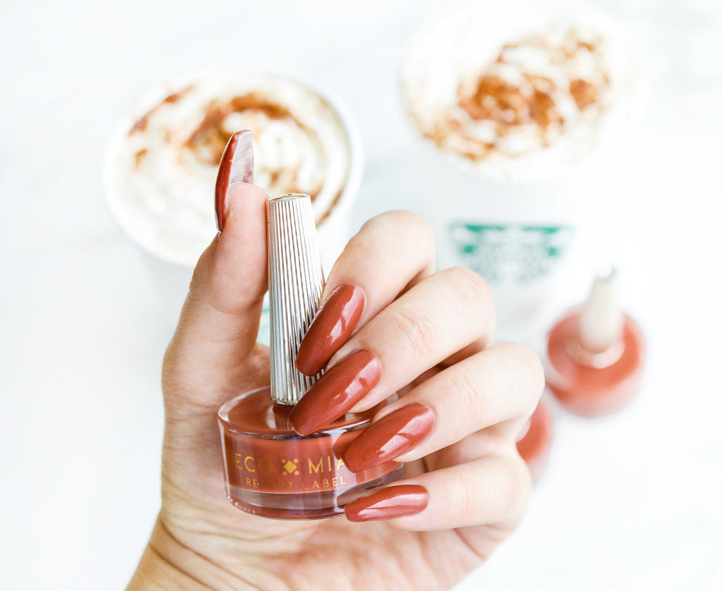 Deco Miami Nail Lacquer PSL Starbucks Coffee Pumpkin Spiced Latte