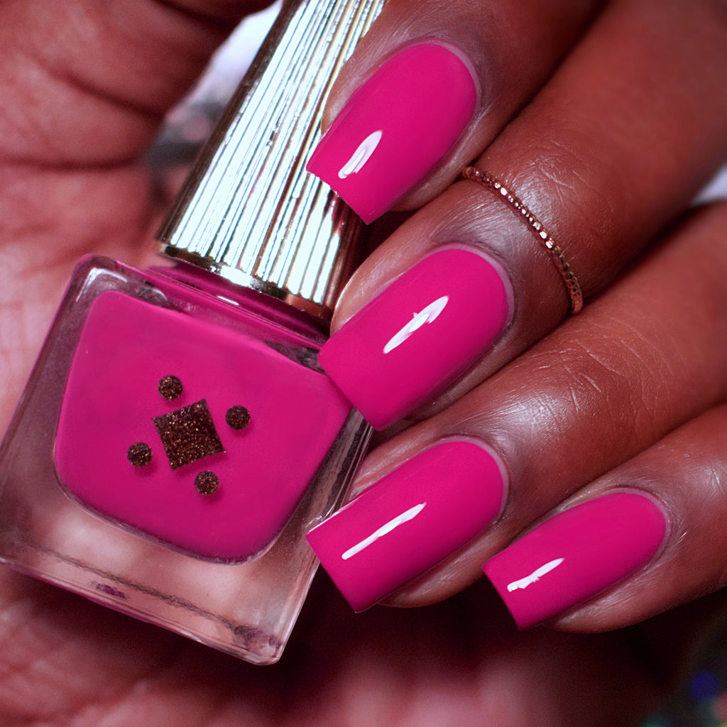MILEY WHATS GOOD -  fuchsia crème nail lacquer by Deco Miami swatch