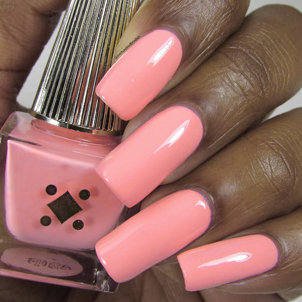 CAKE -  neon pink crème nail lacquer by Deco Miami swatch