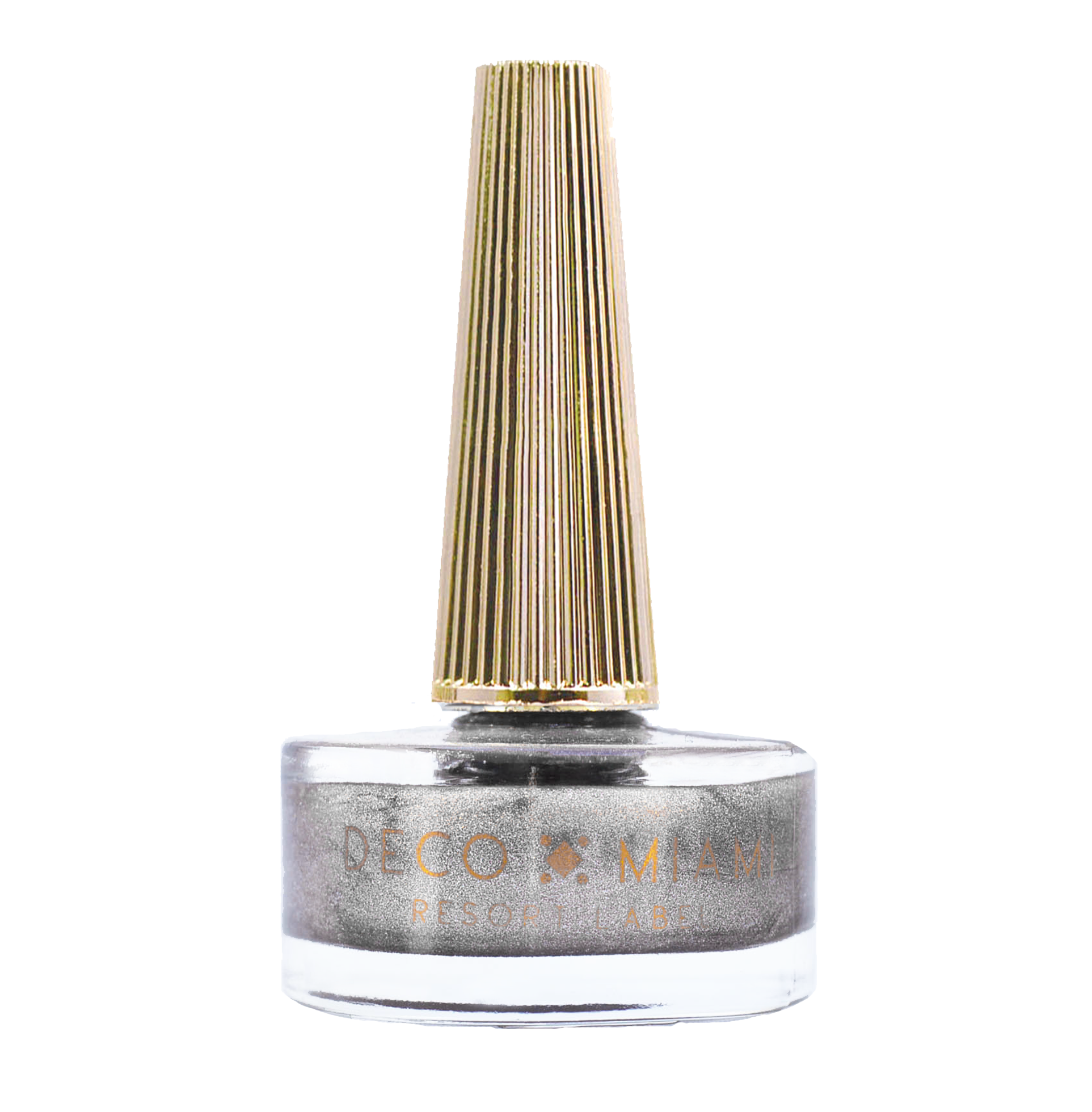 STARRY EYED - 14.8ML - silver metallic nail lacquer by Deco Miami