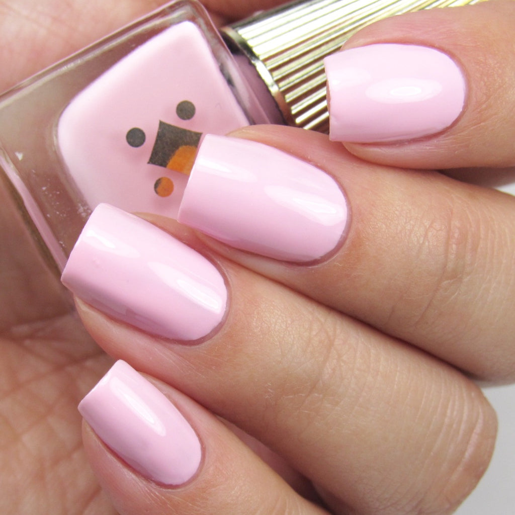 Deco Miami Nail Lacquer Don't Call Me Baby Girl Light Swatch