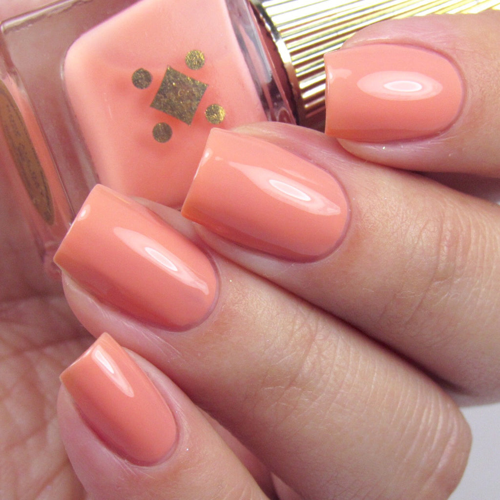 Deco Miami Nail Lacquer Rosé All Day Light Swatch