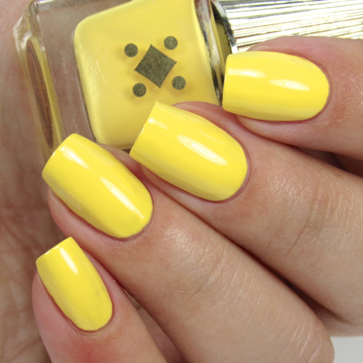 TEQUILA SUNRISE -  canary yellow crème nail lacquer by Deco Miami