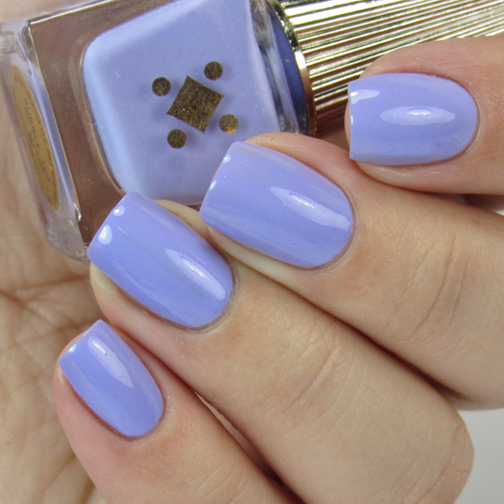 BUBBLE TEA - 6ML - periwinkle crème nail lacquer by Deco Miami
