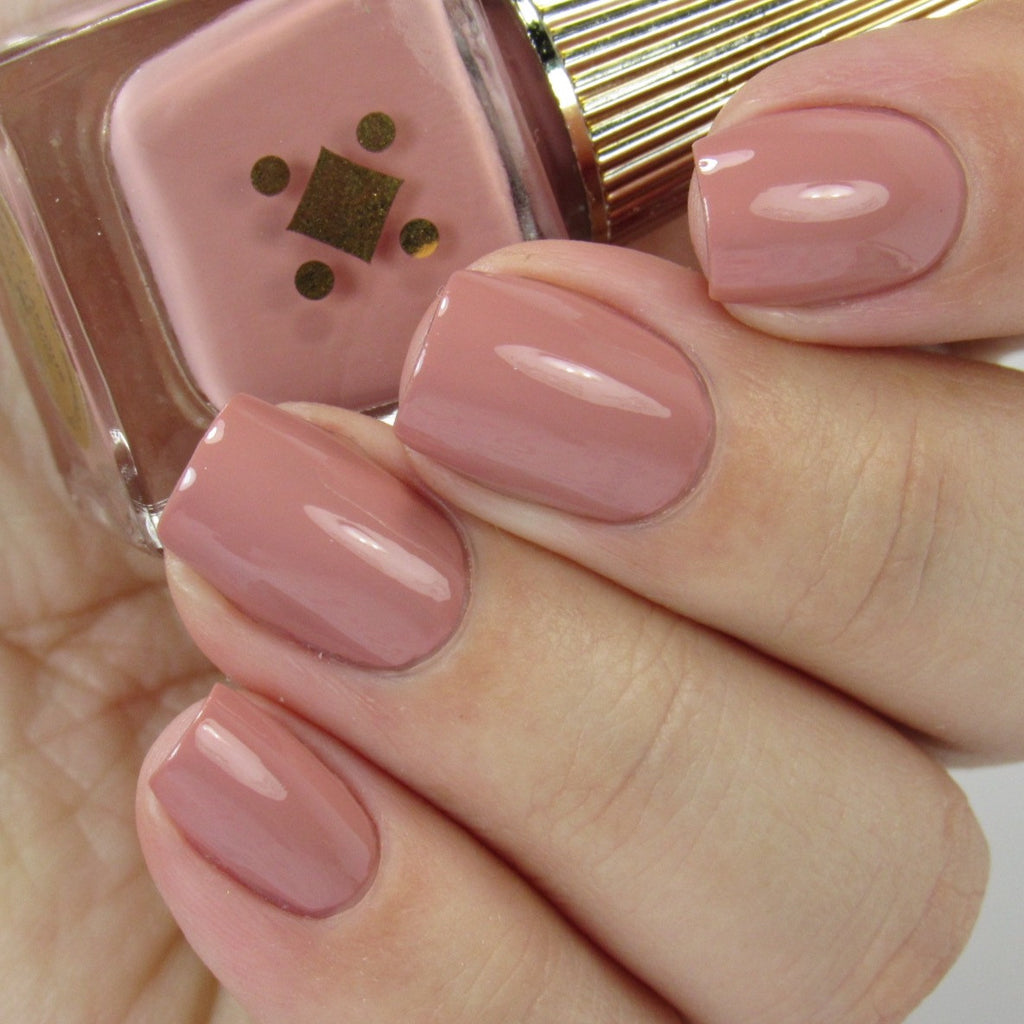 INSTAFAMOUS -  nude pink crème nail lacquer by Deco Miami
