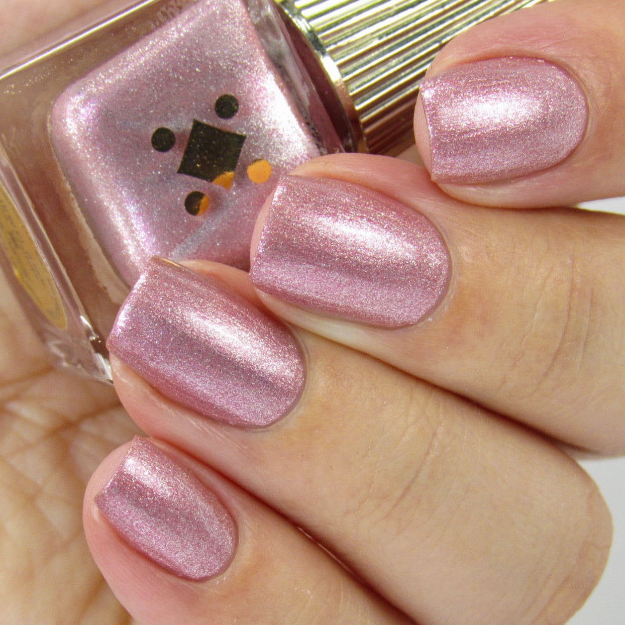 JEWELBOX - pink metallic nail lacquer by Deco Miami