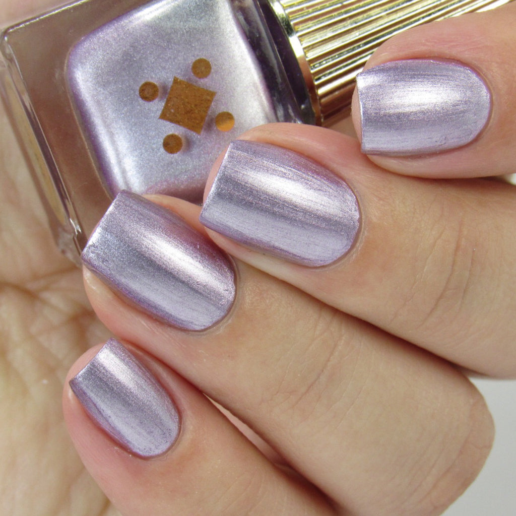 BOY BYE - lavender purple - metallic nail lacquer by Deco Miami