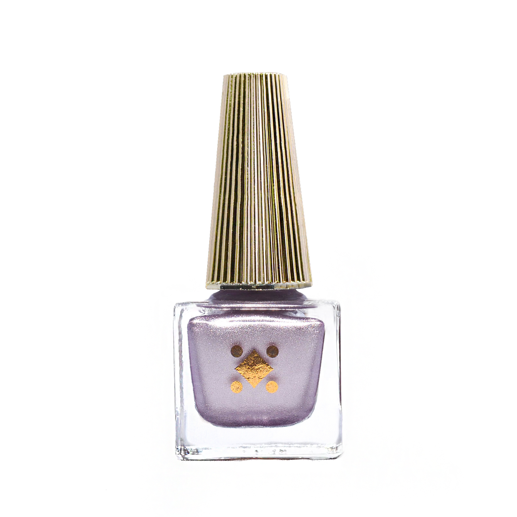 BOY BYE - 6ml lavender purple - metallic nail lacquer by Deco Miami