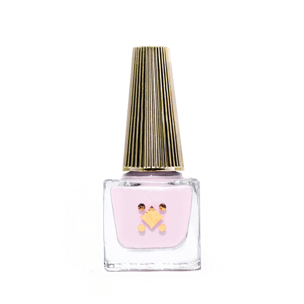 I LIKE YOUR AURA - milky pink crème nail lacquer by Deco Miami