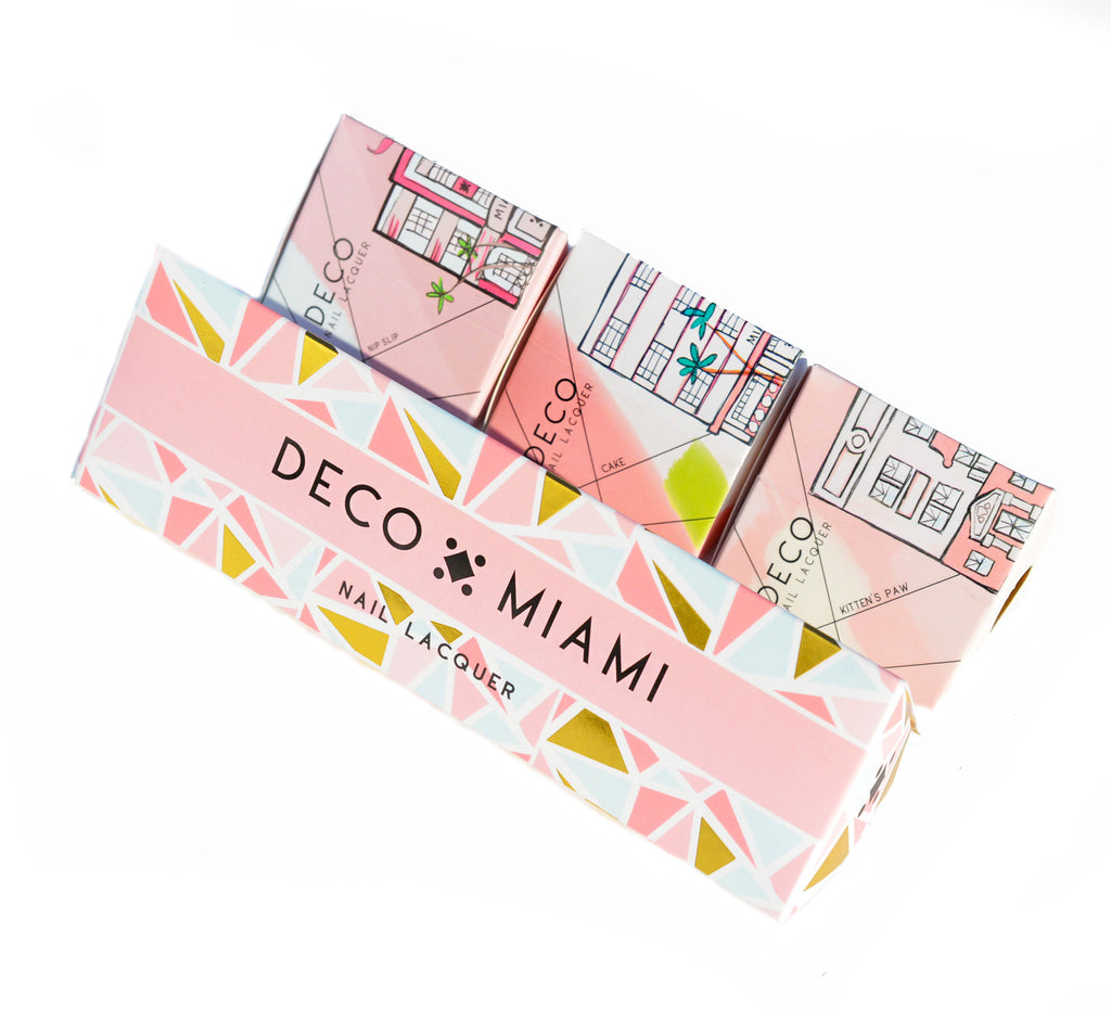 TRIO SET (CUSTOMIZABLE) -  - sets nail lacquer by Deco Miami