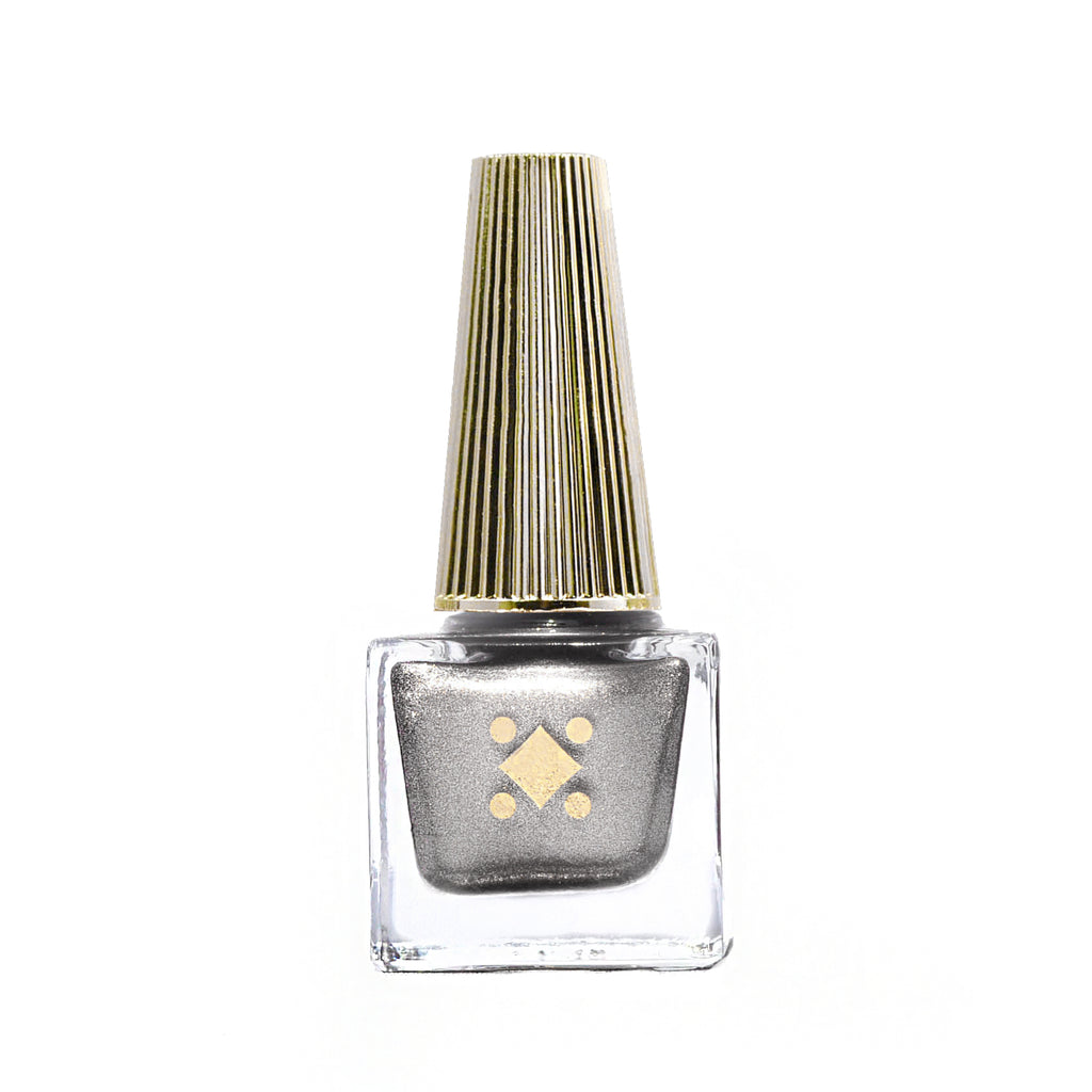 STARRY EYED - 6ML -SILVER metallic nail lacquer by Deco Miami