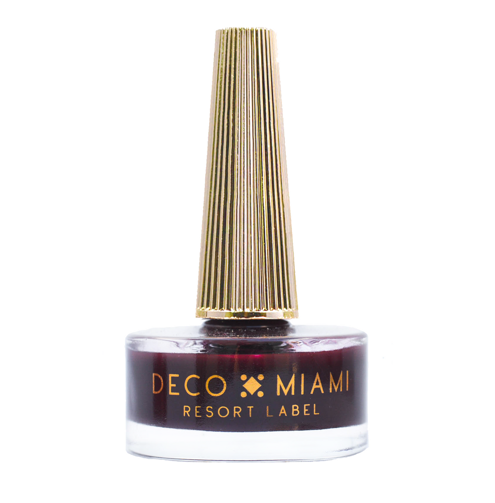 TIED DOWN - 14.8ML - oxblood crème nail lacquer by Deco Miami