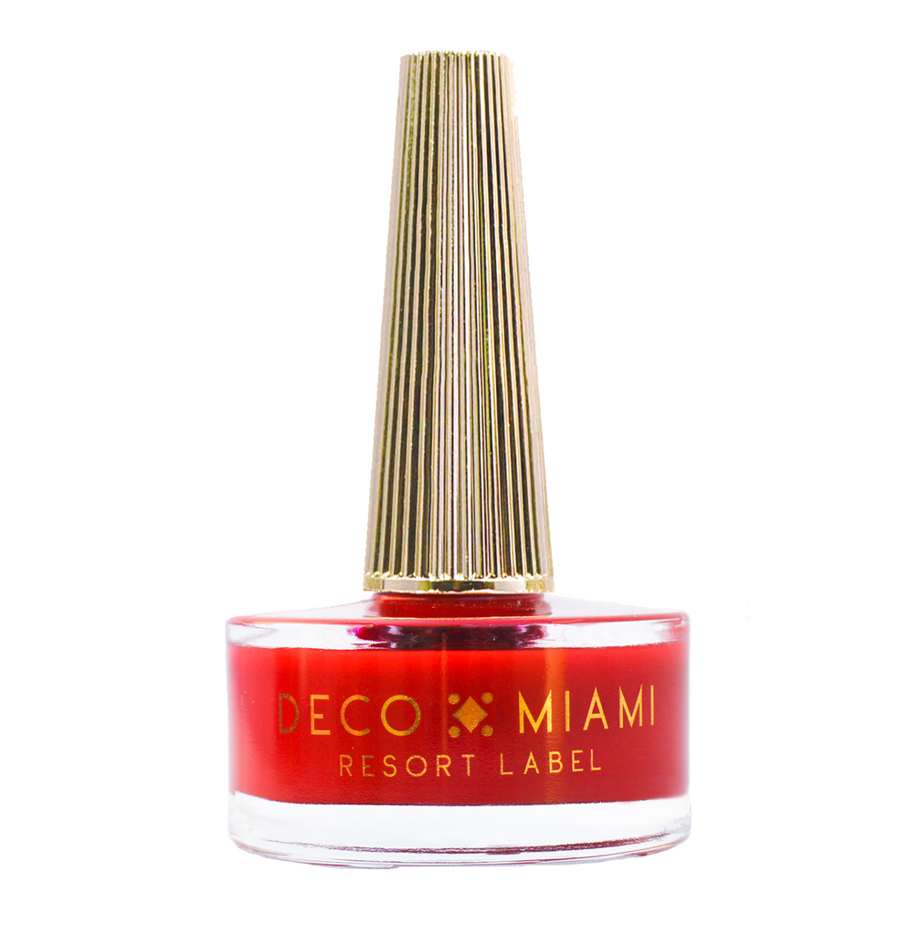 SEÑORITA - 14.8ML - red crème nail lacquer by Deco Miami