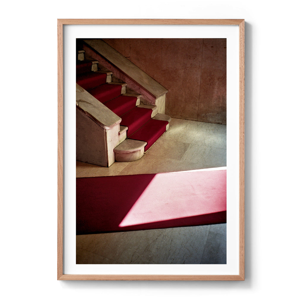 Untitled, Basta! (Rome, Red Stairs, 2011)