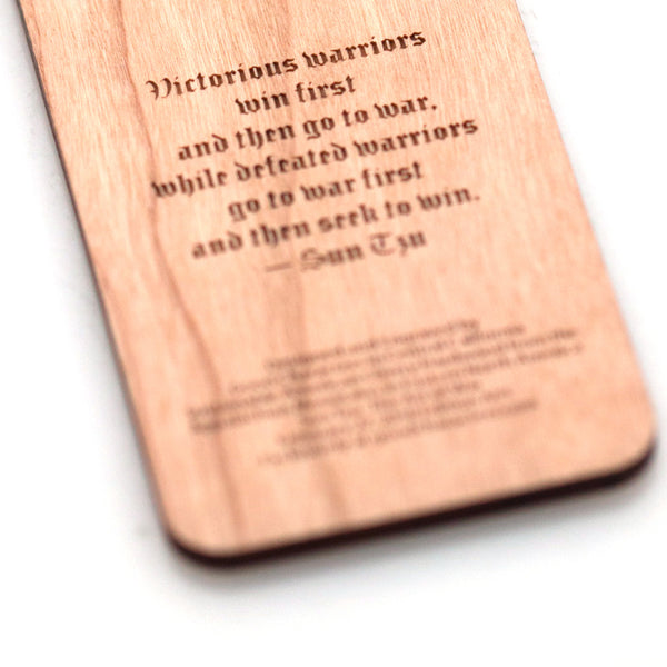 Victorious Warriors Bookmark