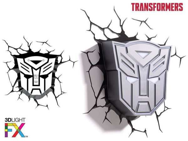 Crack Sticker - Transformer Autobot Shield
