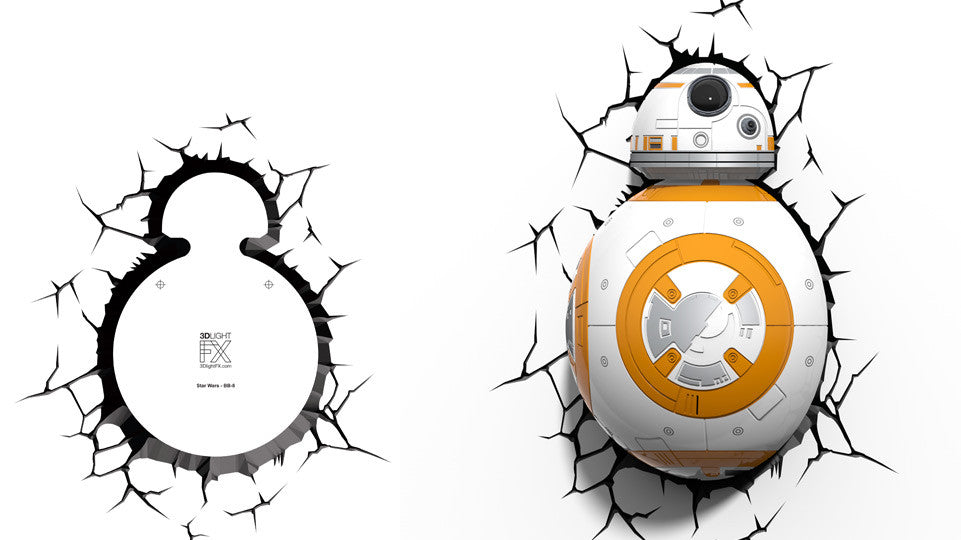 Crack Sticker - Star Wars BB-8