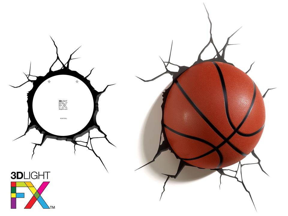 Crack Sticker - Basketball