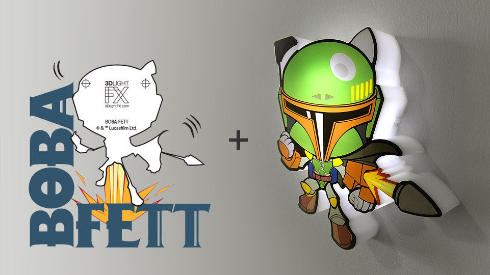 MINI Sticker - MINI Star Wars Boba Fett