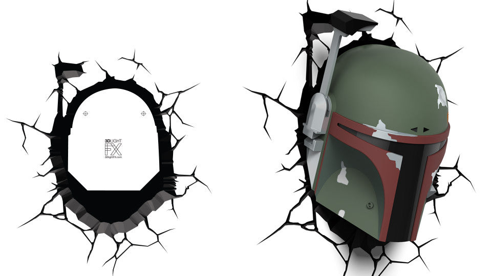 Crack Sticker - Star Wars Boba Fett