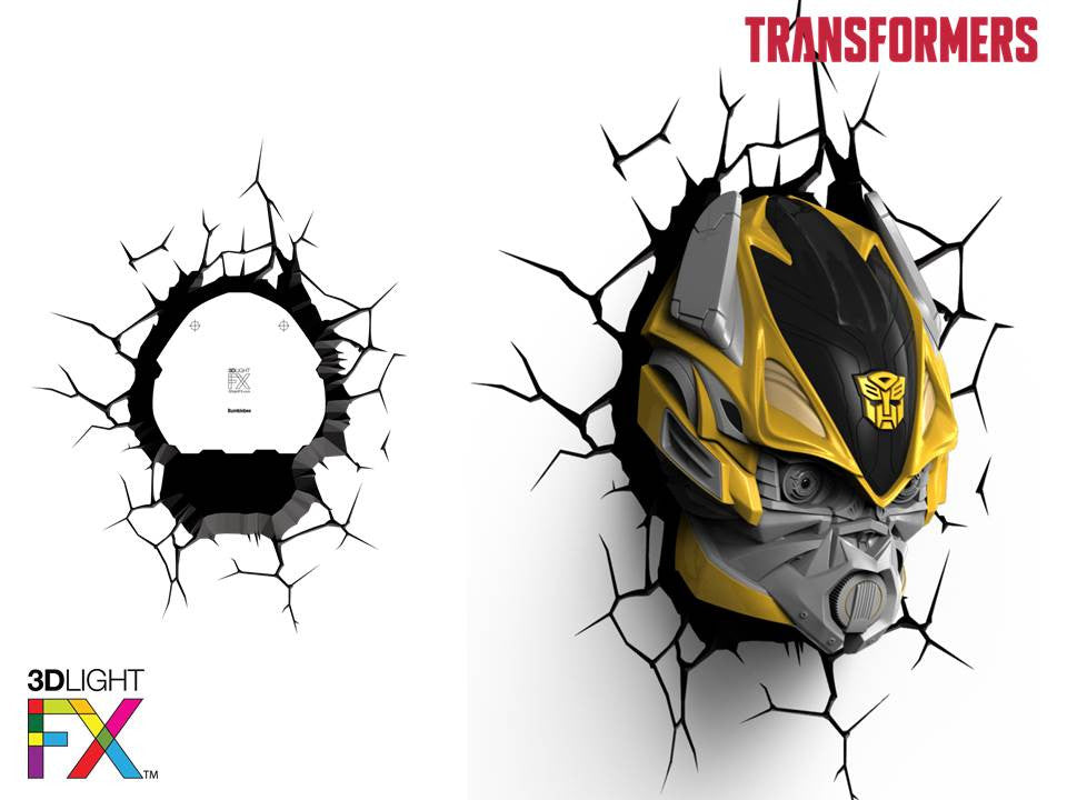 Crack Sticker - Transformer Bumble Bee