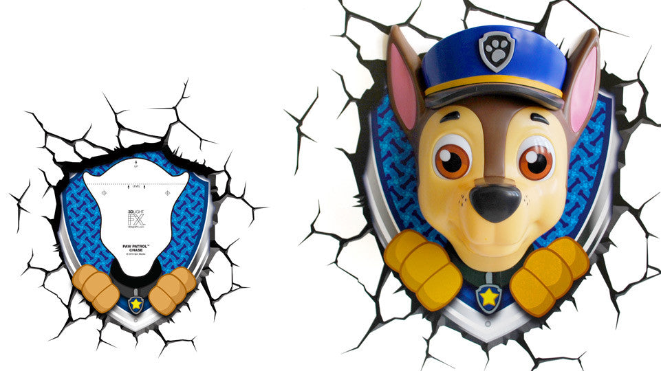 Crack Sticker - Paw Patrol Chase