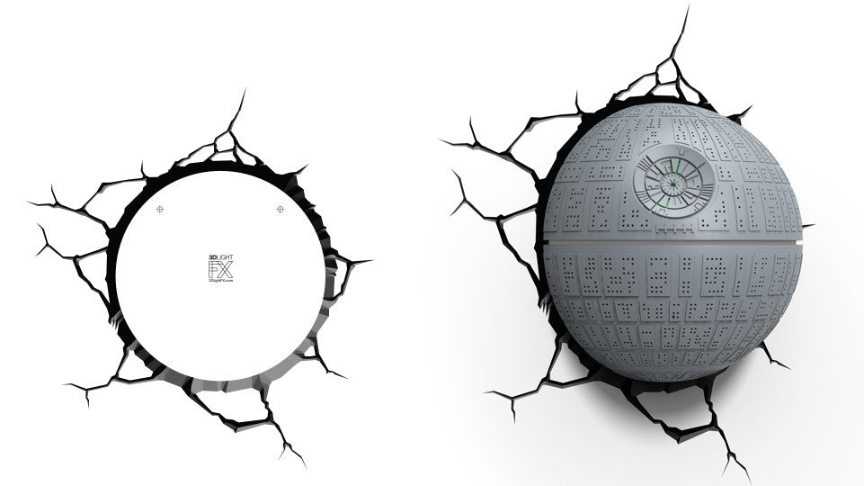 Crack Sticker - Star Wars Death Star