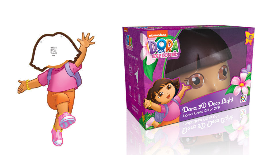 Crack Sticker - Dora the Explorer