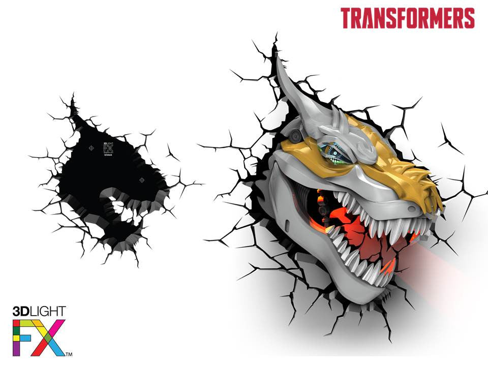 Crack Sticker - Transformer Grimlock
