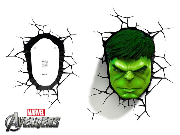Crack Sticker - Hulk Face