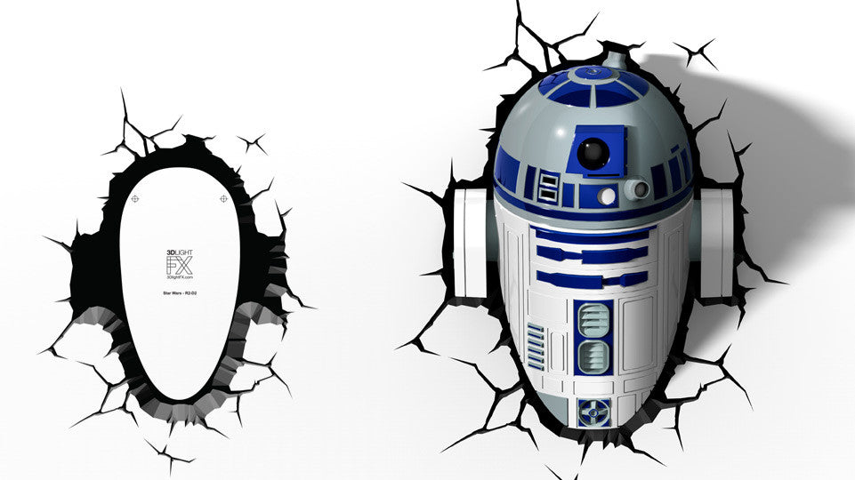 Crack Sticker - Star Wars R2-D2