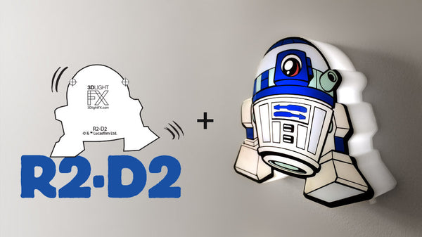 MINI Sticker - MINI Star Wars R2-D2
