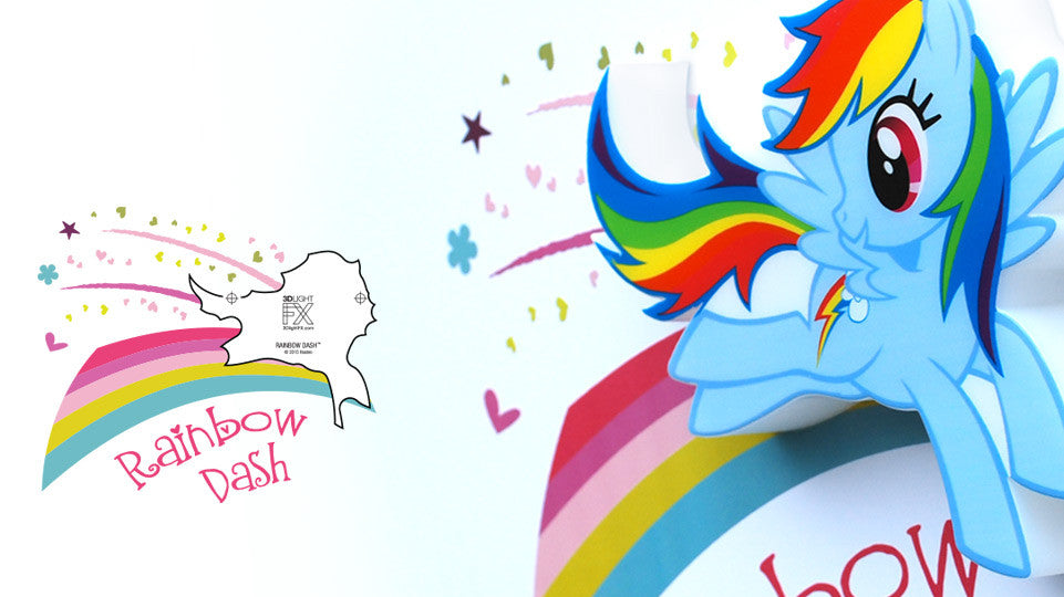 MINI Sticker - MINI Rainbow Dash