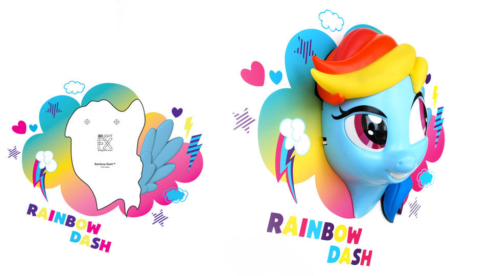 Crack Sticker - My Little Pony Rainbow Dash